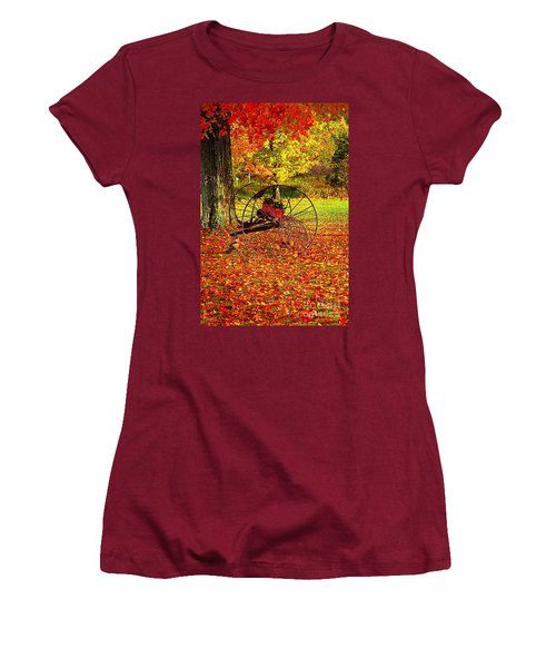 Gone With The Wind Women's T-Shirt (Junior Cut) by Diane E Berry