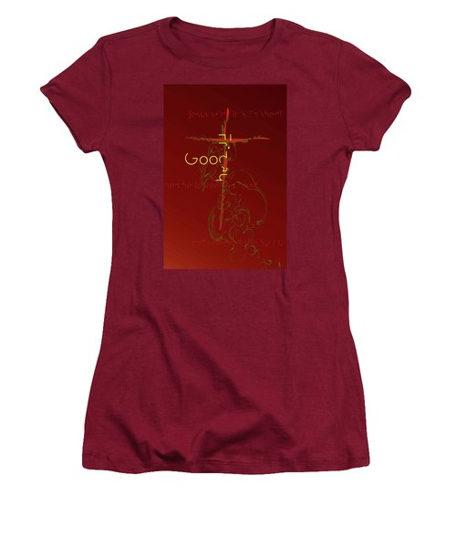 Good Friday Women's T-Shirt (Athletic Fit)