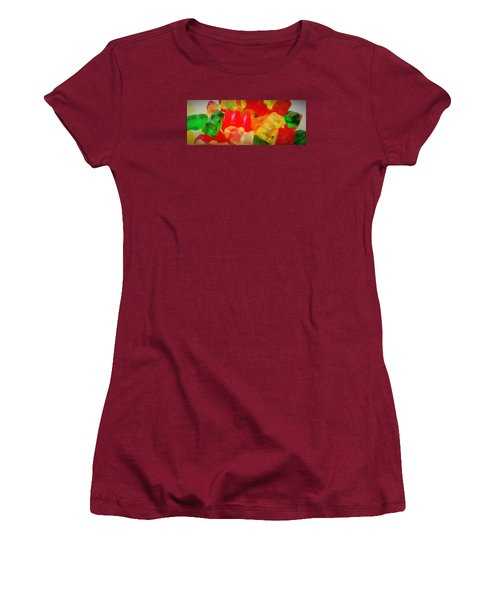 Gummies Women's T-Shirt (Junior Cut) by Martin Cline