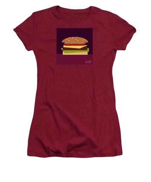 Hamburger Women's T-Shirt (Athletic Fit)