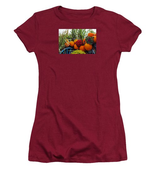 Harvest Bounty Women's T-Shirt (Athletic Fit)