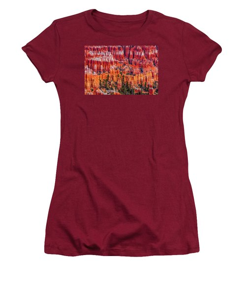 Hoodoo Forest Women's T-Shirt (Athletic Fit)