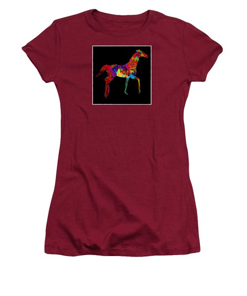 Horse Women's T-Shirt (Athletic Fit)