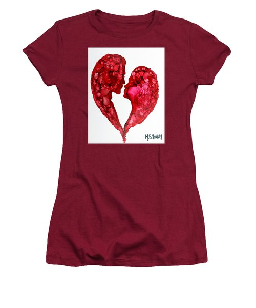 Human Heart Women's T-Shirt (Athletic Fit)