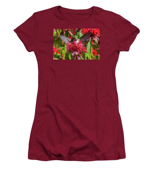 Hummingbird At Eagles Nest Women's T-Shirt (Athletic Fit)