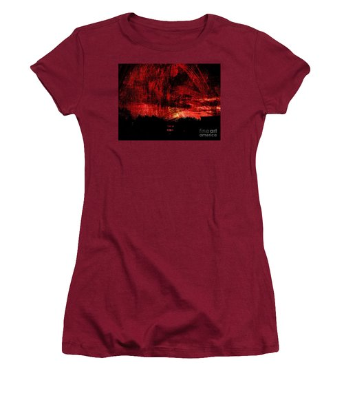 In A Red World Women's T-Shirt (Athletic Fit)