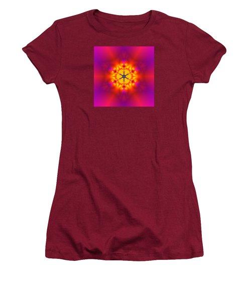 Women's T-Shirt (Junior Cut) featuring the digital art Inner Comet by Robert Thalmeier