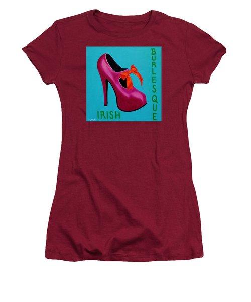 Irish Burlesque Shoe    Women's T-Shirt (Athletic Fit)