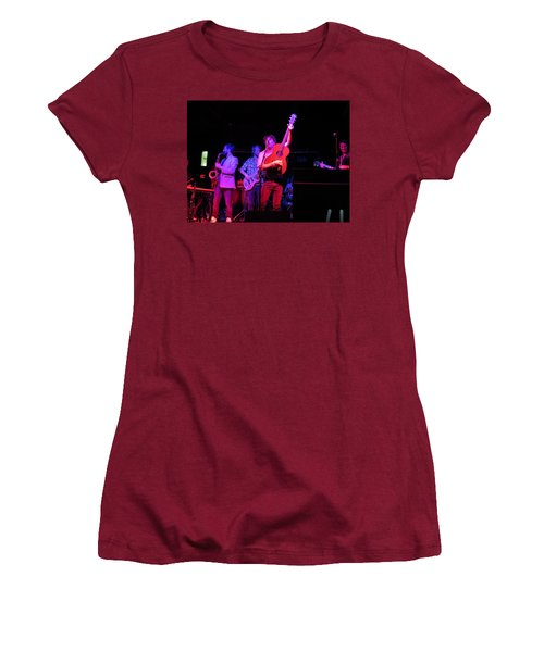 Women's T-Shirt (Athletic Fit) featuring the photograph Jammin by Aaron Martens
