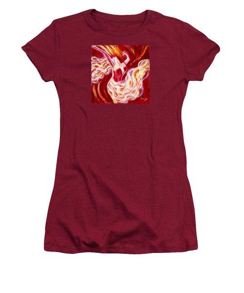 Jubilation Women's T-Shirt (Junior Cut) by Anya Heller