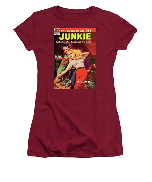Junkie Women's T-Shirt (Junior Cut) by Al Rossi