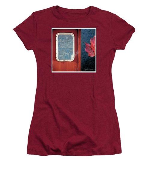 Juxtae #14 Women's T-Shirt (Junior Cut) by Joan Ladendorf