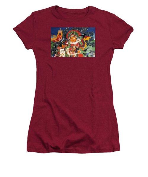 Women's T-Shirt (Junior Cut) featuring the photograph Ladakh_17-15 by Craig Lovell
