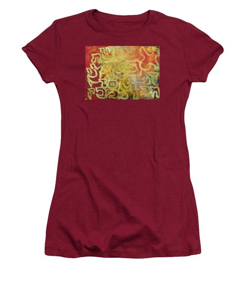 Light In The Letters Women's T-Shirt (Athletic Fit)