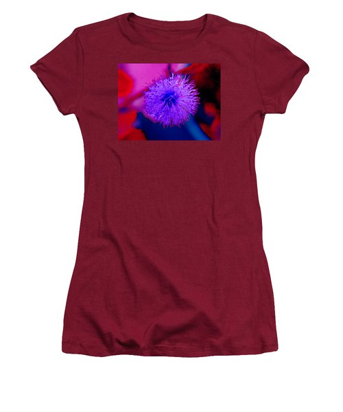 Light Purple Puff Explosion Women's T-Shirt (Athletic Fit)