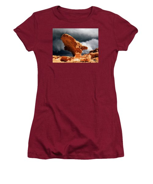 Little Finland Nevada 8 Women's T-Shirt (Junior Cut) by Bob Christopher