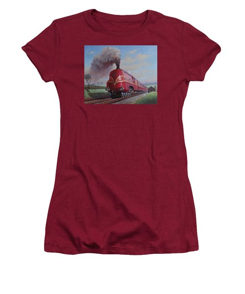 Lms Stanier Pacific Women's T-Shirt (Junior Cut) by Mike  Jeffries