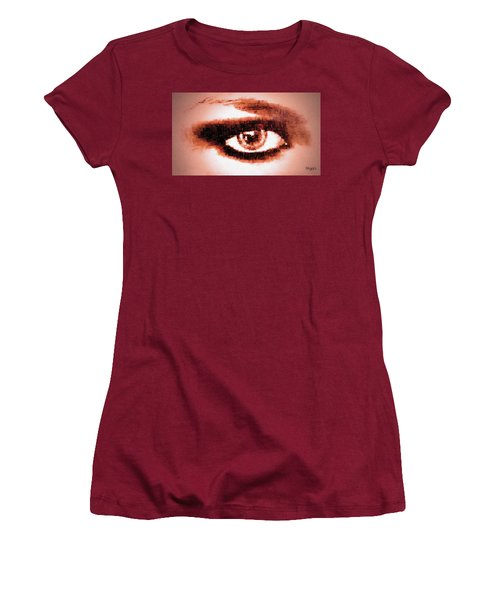 Look Into My Eye Women's T-Shirt (Athletic Fit)