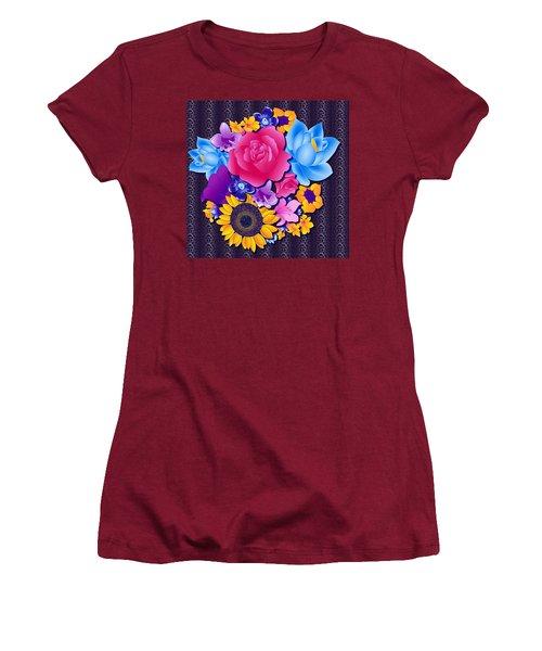 Lovely Bouquet Women's T-Shirt (Junior Cut) by Samantha Thome