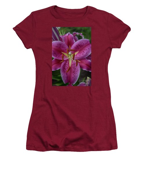 Lovely Lily Women's T-Shirt (Athletic Fit)