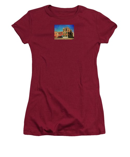 Women's T-Shirt (Junior Cut) featuring the photograph Malamocco Corner No3 by Anne Kotan
