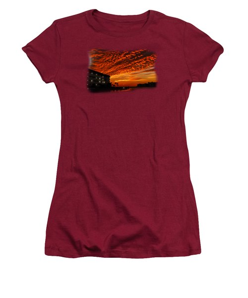 Marco Sunset No.9 Women's T-Shirt (Junior Cut) by Mark Myhaver