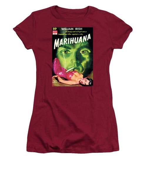 Marihuana Women's T-Shirt (Junior Cut) by Bill Fleming