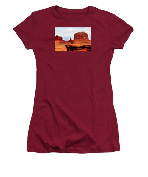 Monument Valley Women's T-Shirt (Junior Cut) by Tom Prendergast