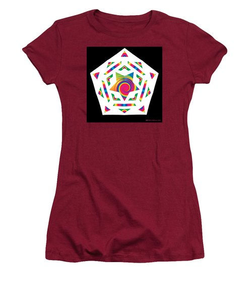 New Star 2a Women's T-Shirt (Junior Cut) by Eric Edelman