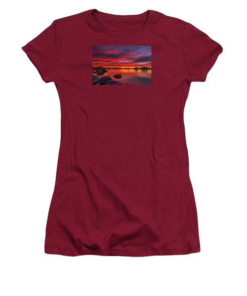 Nightfall Women's T-Shirt (Junior Cut) by Marc Crumpler