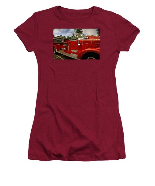 Women's T-Shirt (Junior Cut) featuring the photograph Old Number 3 by Marty Koch