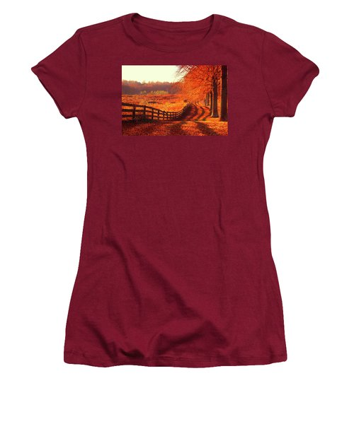 On A Day Like Today Women's T-Shirt (Junior Cut) by Iryna Goodall