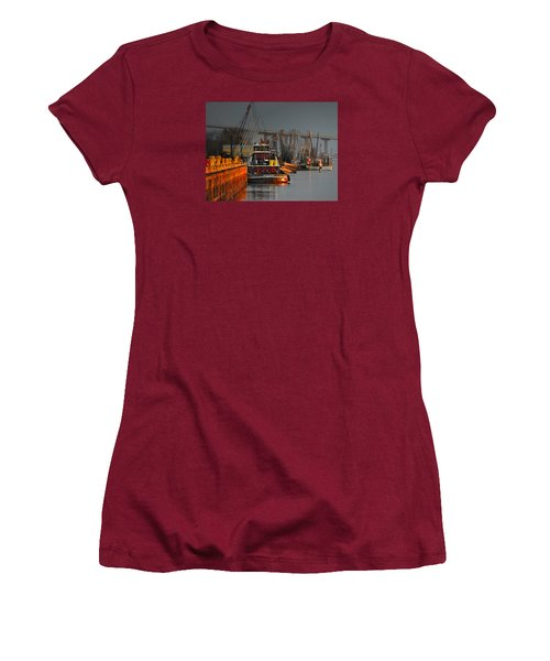 On The Waterfront Women's T-Shirt (Junior Cut)