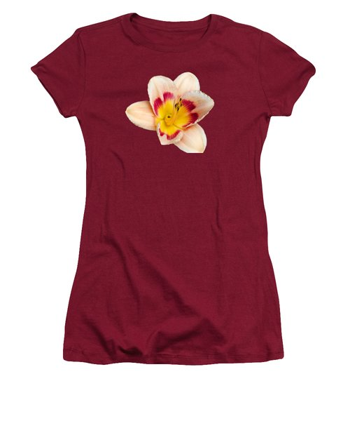 Orange Yellow Lilies Women's T-Shirt (Athletic Fit)