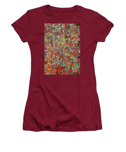 Paint Number 33 Women's T-Shirt (Junior Cut)