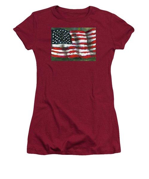Palette Flag Women's T-Shirt (Athletic Fit)