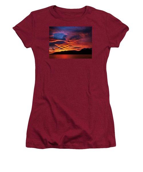 Patagonian Sunrise Women's T-Shirt (Junior Cut) by Joe Bonita