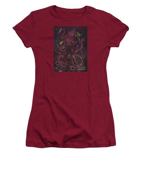 Pearls Women's T-Shirt (Junior Cut) by Dawn Fairies