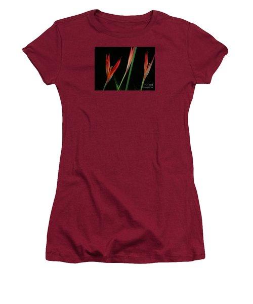 Pretty In Orange Women's T-Shirt (Junior Cut) by Pamela Blizzard