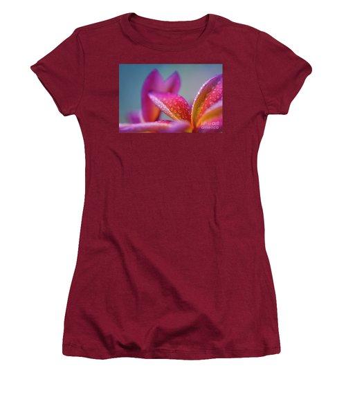 Women's T-Shirt (Junior Cut) featuring the photograph Pua Melia Ke Aloha Hawaii  by Sharon Mau