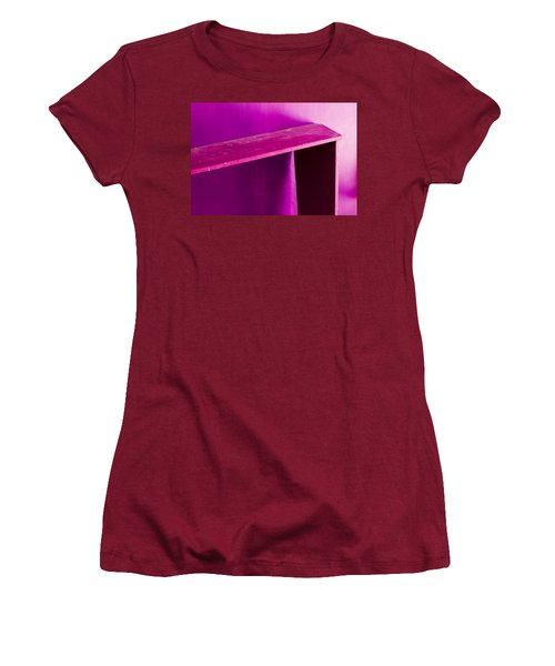 Women's T-Shirt (Junior Cut) featuring the photograph Purple Passion by Prakash Ghai