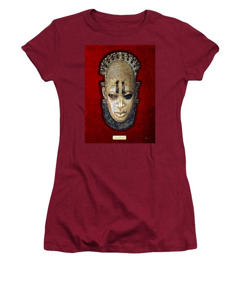 Queen Mother Idia - Ivory Hip Pendant Women's T-Shirt (Junior Cut) by Serge Averbukh