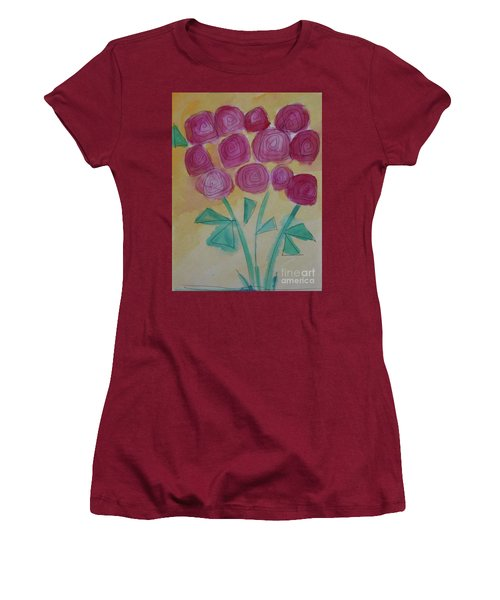 Randi's Roses Women's T-Shirt (Junior Cut) by Kim Nelson