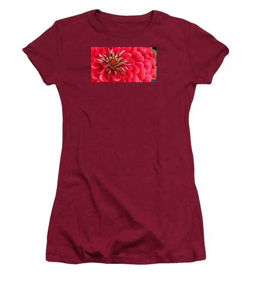 Red Explosion Women's T-Shirt (Athletic Fit)