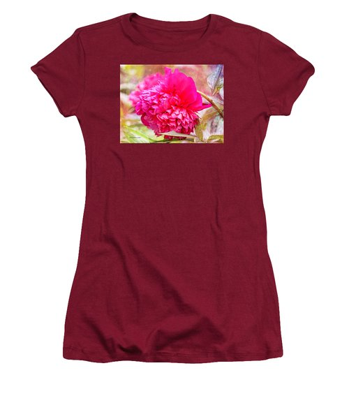 Red Haired Lady Women's T-Shirt (Athletic Fit)