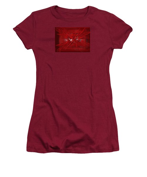 Red Heartwires Women's T-Shirt (Athletic Fit)