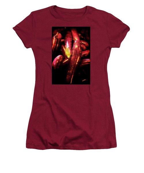 Renaissance Chinese Eggplant Women's T-Shirt (Athletic Fit)