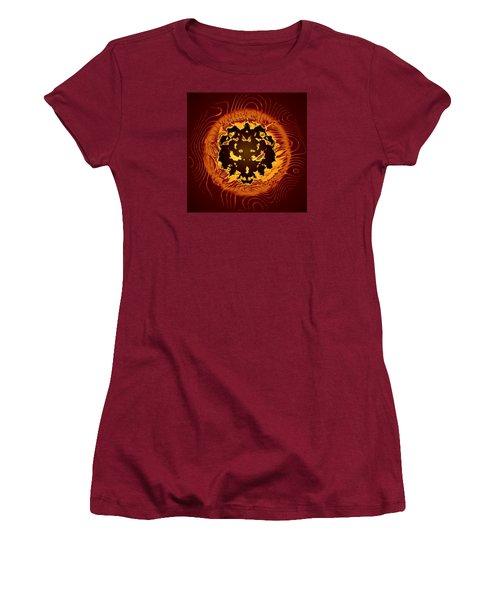 Women's T-Shirt (Junior Cut) featuring the digital art Resident Evil by Mario Carini