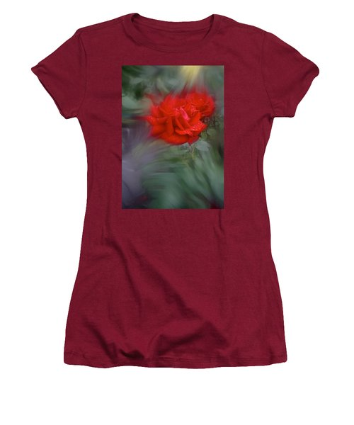 Rose Aug 2016 Women's T-Shirt (Junior Cut) by Richard Cummings