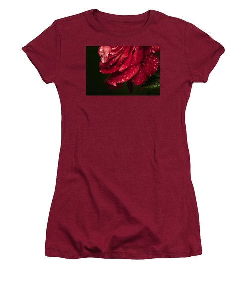 Rose Women's T-Shirt (Junior Cut) by Craig Szymanski
